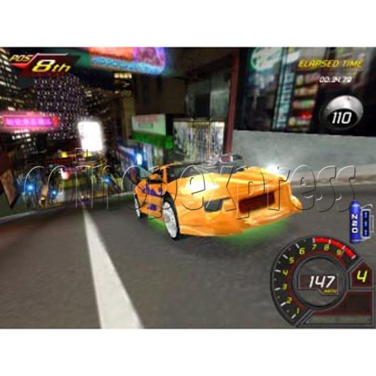 Fast and Furious Arcade Machine SD Version 13938