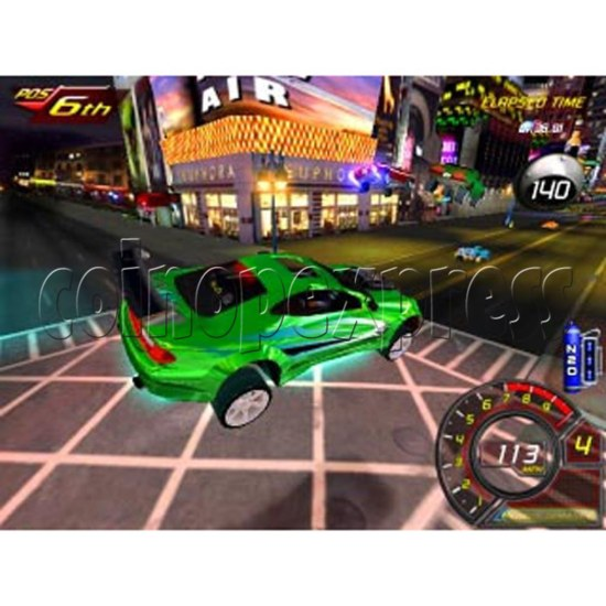 Fast and Furious Arcade Machine SD Version 13939