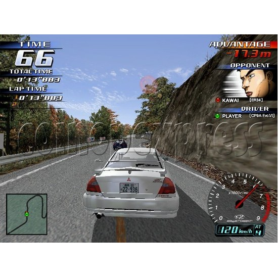 Mainboard for Initial D3 Machine - artwork 14059