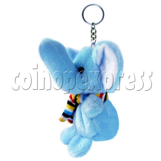 "4"" Tartan Scarf Elephant 14482"