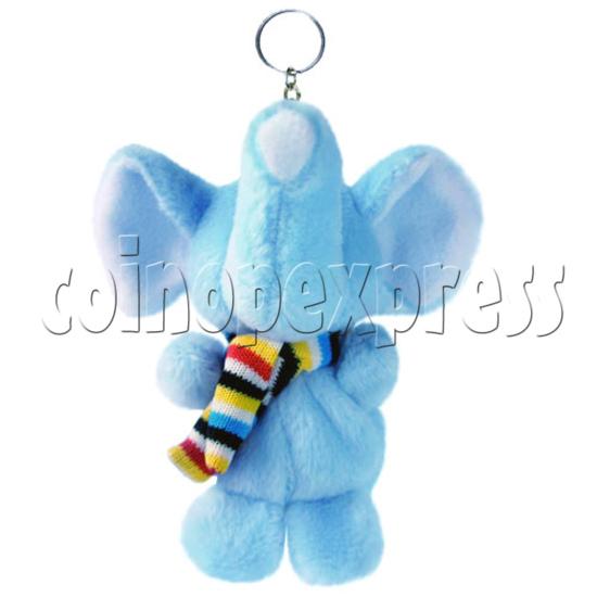 "4"" Tartan Scarf Elephant 14483"