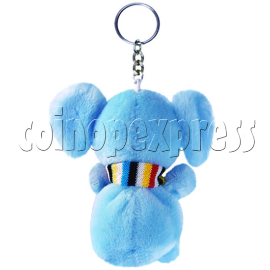 "4"" Tartan Scarf Elephant 14484"