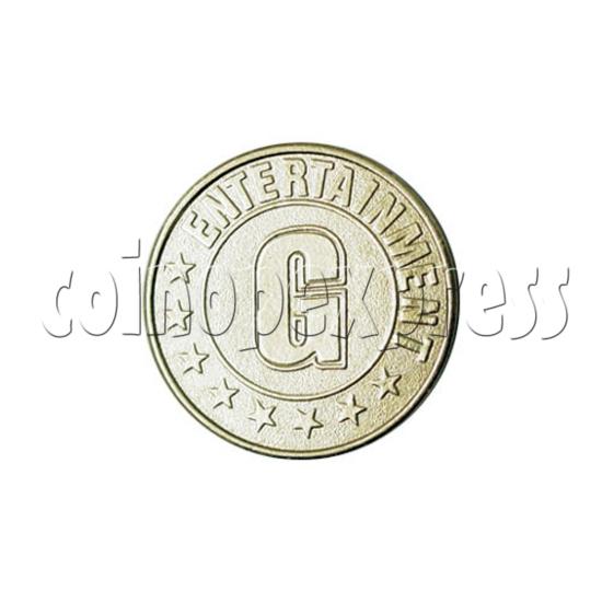 Token-Brass 14501