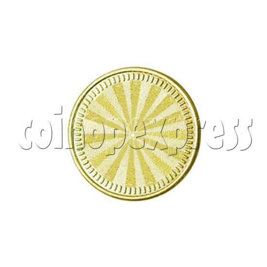 Token-Brass 14502
