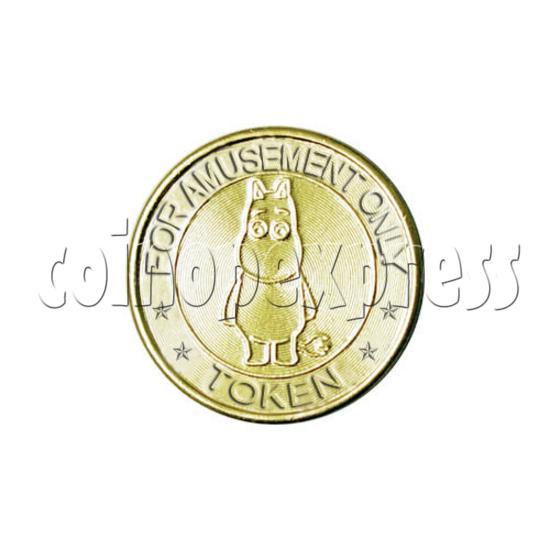Token-Brass 14504