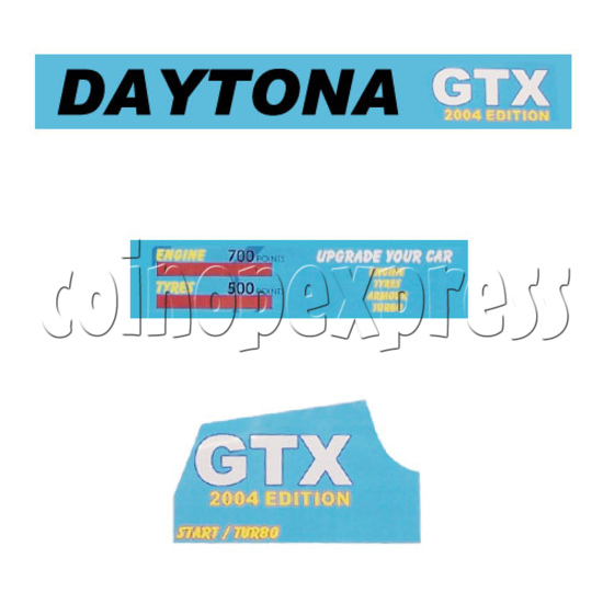 Daytona GTX 2004 Upgrade Kit -title