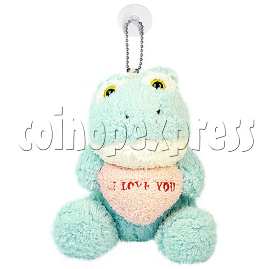 """5.5"""" Plush Flogs with Embroidered Heart 14952"""