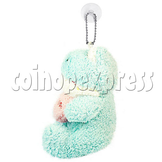 """5.5"""" Plush Flogs with Embroidered Heart 14954"""