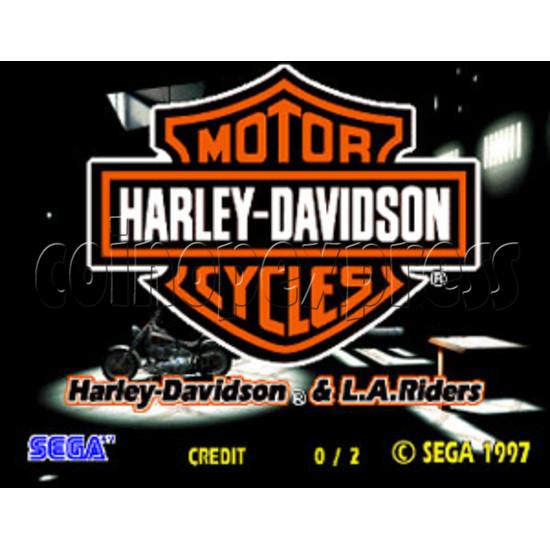 Harley Davidson & L.A. Riders (DX) 15108