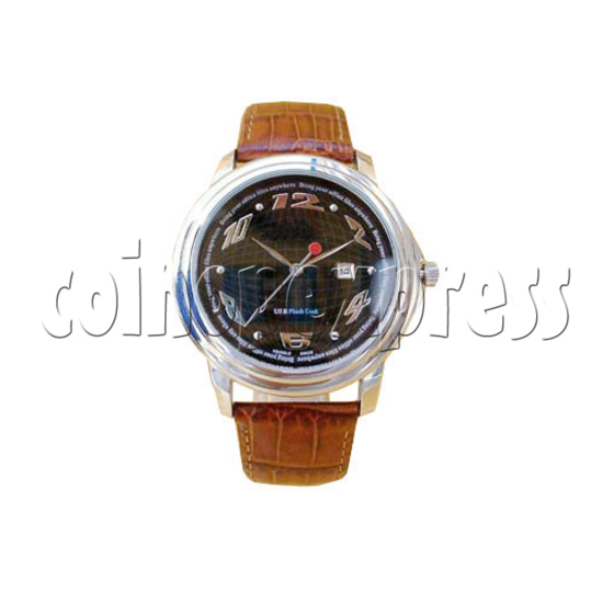 64M USB Leather Watches 16027