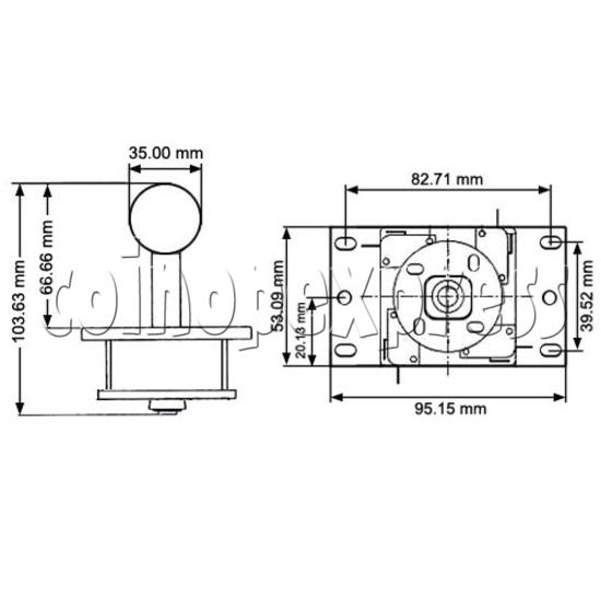 Sanwa Joystick (JLF-TP-8YT) 16131