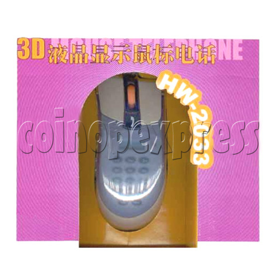 3D Mouse Telephone with Display 16253