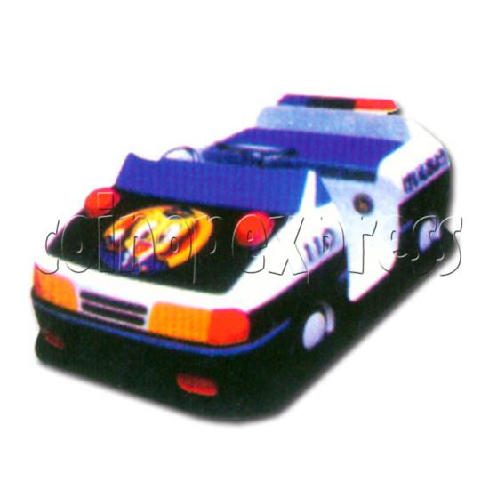 Battery Thunder Police Car 16341