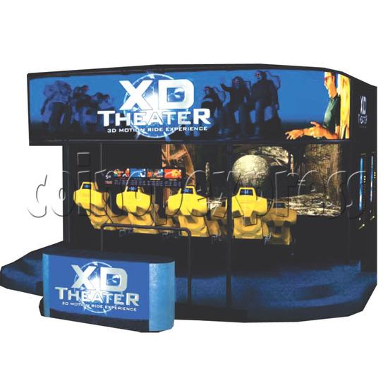XD Theater Virtual Reality Cinema 16363