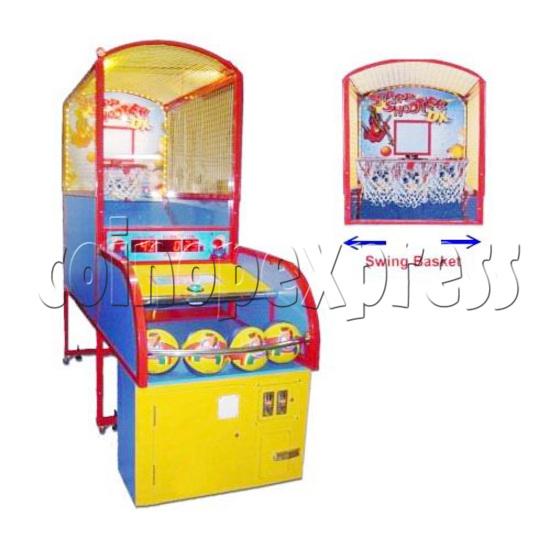 Swing Basketball Game Machine 16695