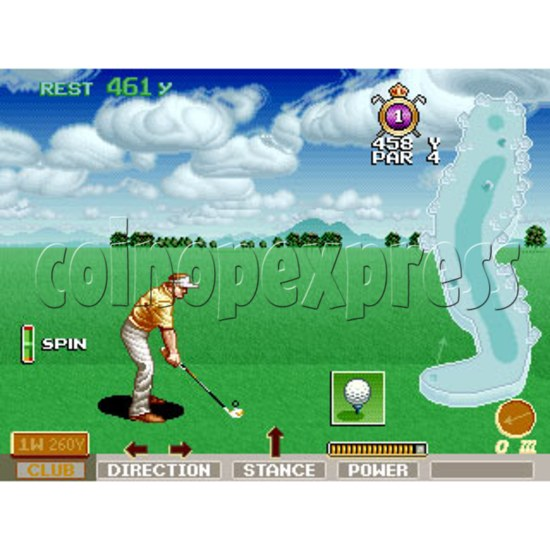 Skin Games (Midway Skins Golf Kit) - stop production 16938