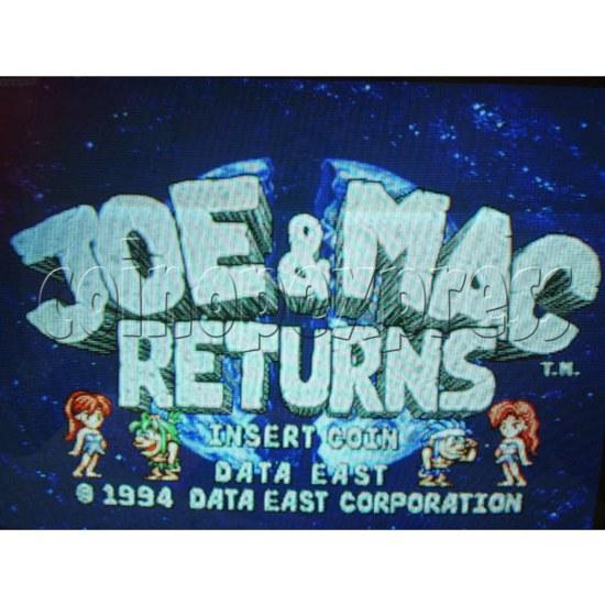 Joe & Mac Returns Arcade PCB -title