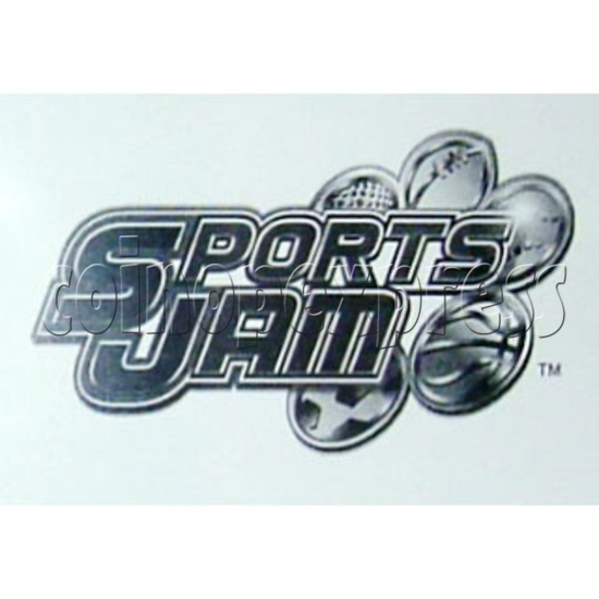 Sport Jam software upgrade Arcade Game kit - Game name