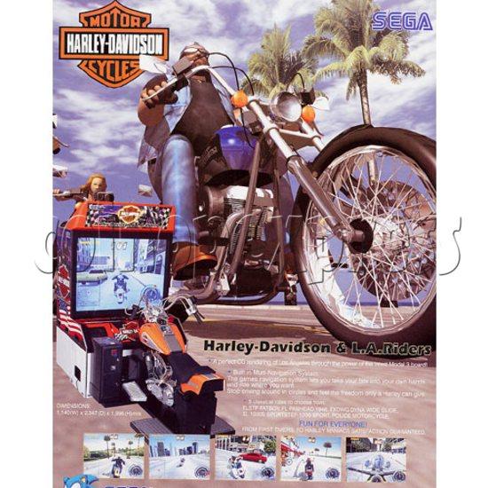 Harley Davidson & L.A. Riders (DX) 17526