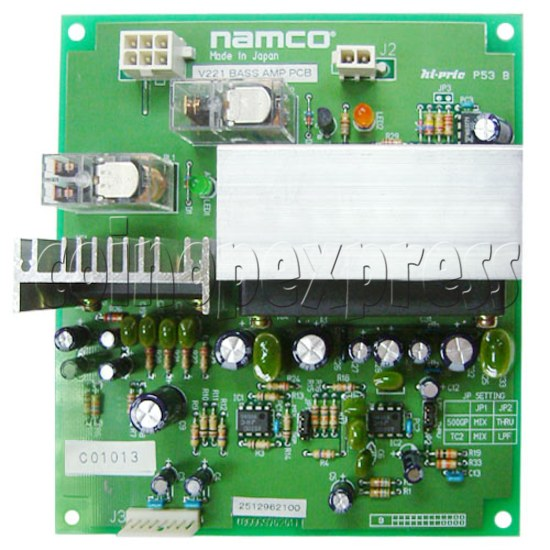 Bass Amplifier PC Board for Crisis Zone 17759