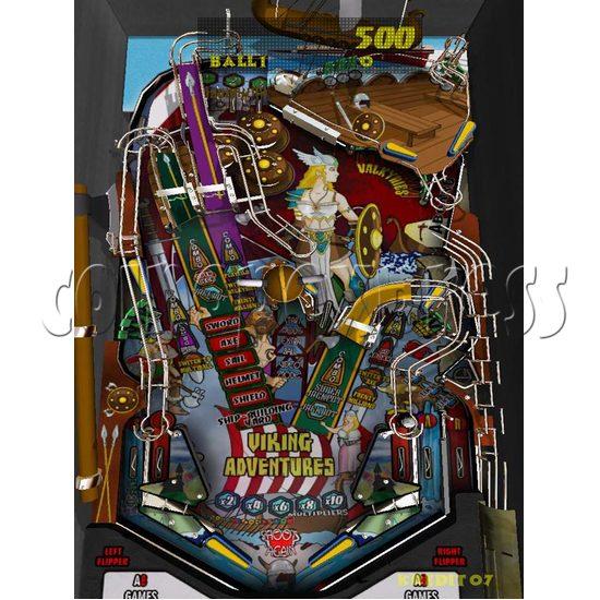 Goal Digital Pinball Machine 18011