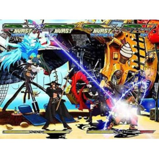 Guilty Gear Isuka software -game play 1