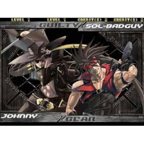 Guilty Gear Isuka software -game play 4