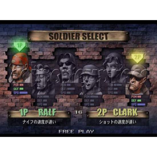 Metal Slug 6 Arcade software -game play 1