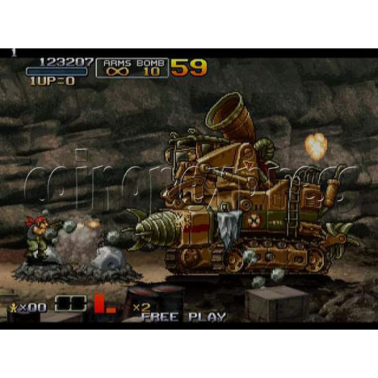 Metal Slug 6 Arcade software -game play 2