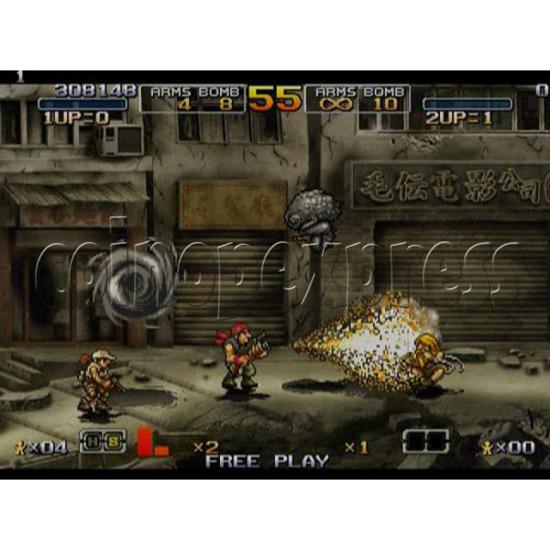 Metal Slug 6 Arcade software -game play 3