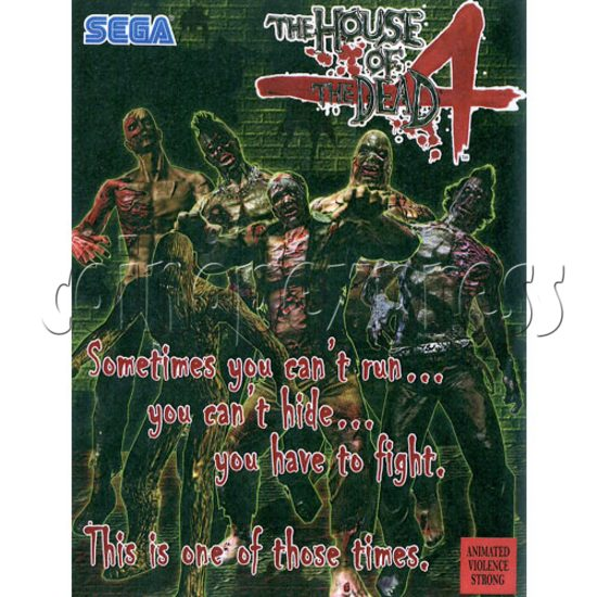 House of Dead 4 DX machine 18537