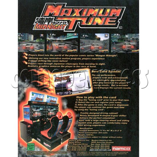 Wangan Midnight Maximum Tune Twin 18544