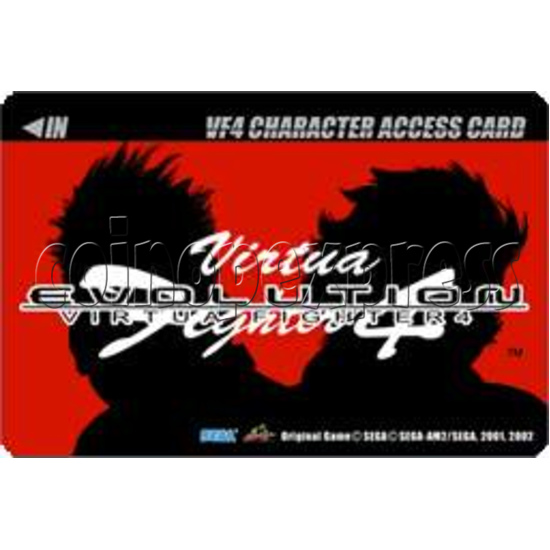 Virtua Fighter 4 Evolution software-character card-1