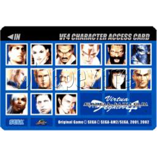 Virtua Fighter 4 Evolution software-character card-2