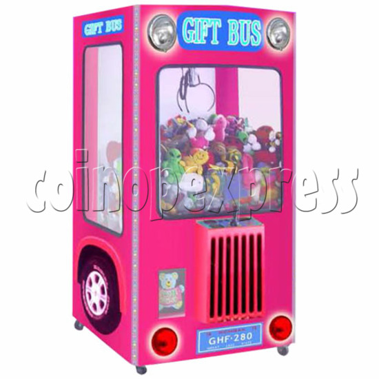 Gift Bus Crane Machine 19034
