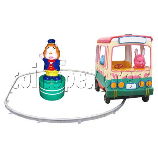 Single Cartoon Bus train 19101