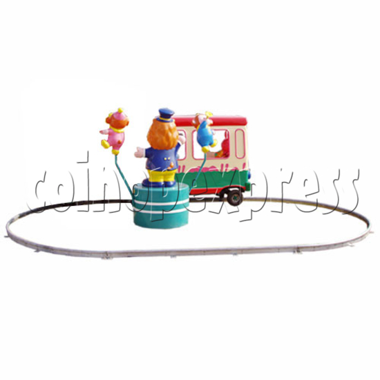 Single Cartoon Bus train 19102