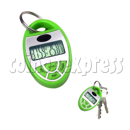 Solar Power UV Detector with Timer and Keyring 19623
