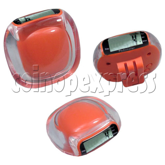 Mini Multifunction Pedometer with Belt Clip 19634