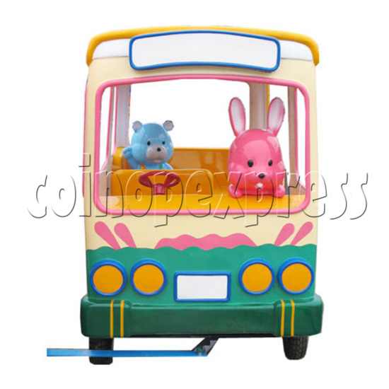 Single Cartoon Bus train 19704