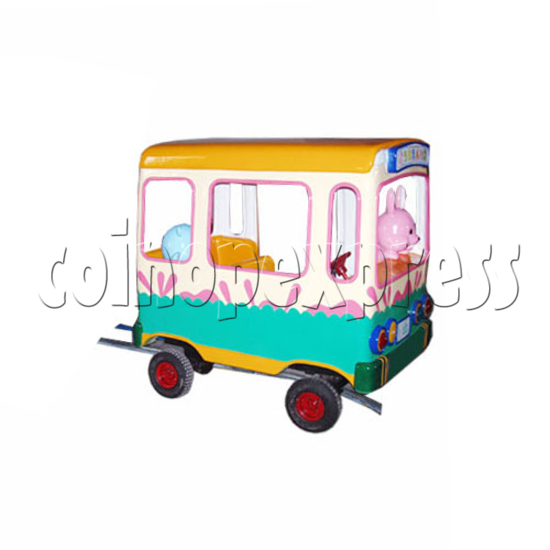 Single Cartoon Bus train 19705