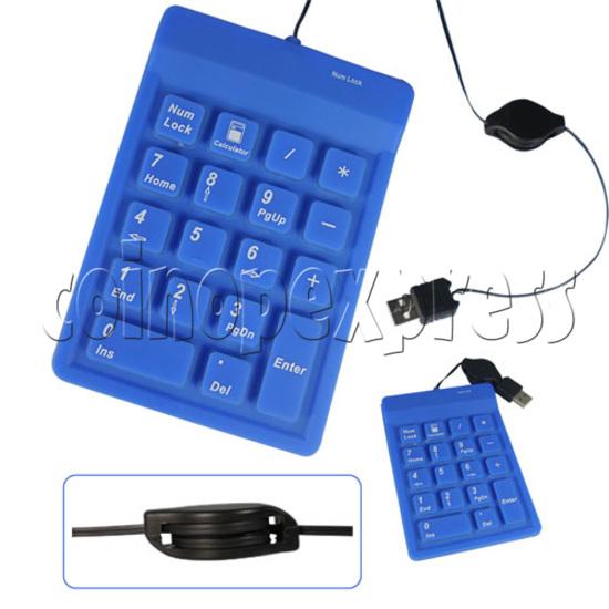 USB Waterproof Number Keypad 19887