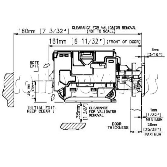 Bill Validator / Note Reader NV10 19943