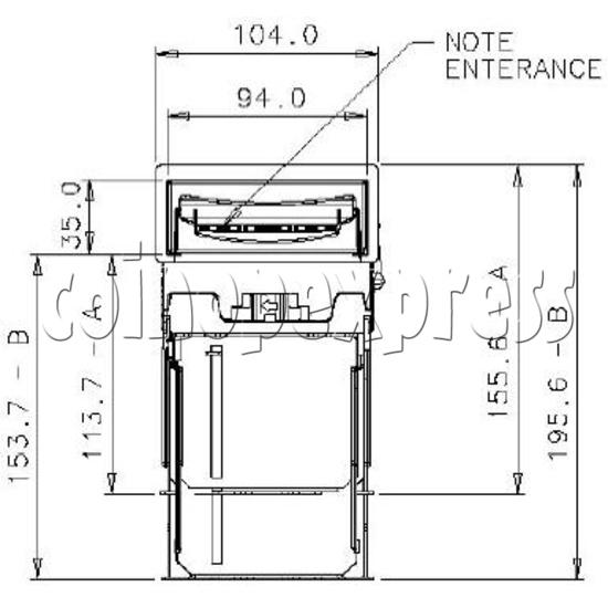 Bill Validator / Note Reader NV9 19948