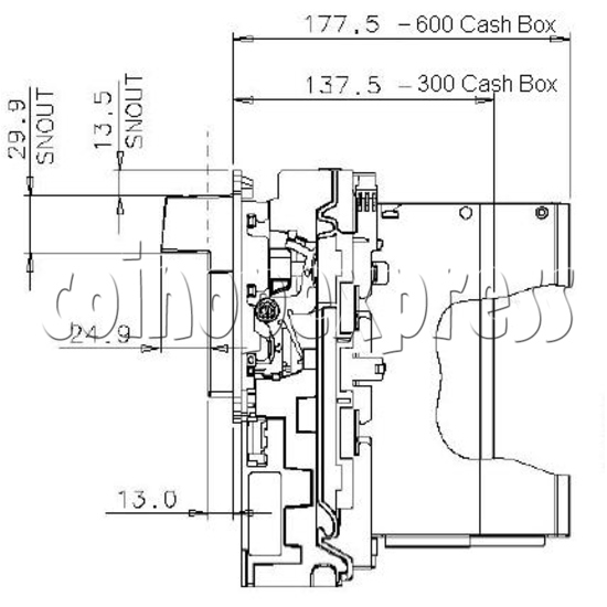 Bill Validator / Note Reader NV9 19952