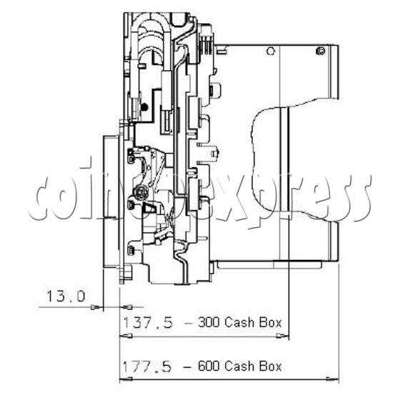 Bill Validator / Note Reader NV9 19955