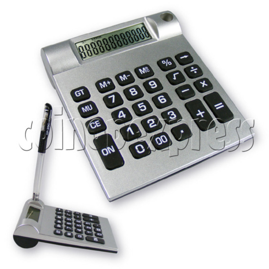 12 Digit Calculator with Pen Holder 19998
