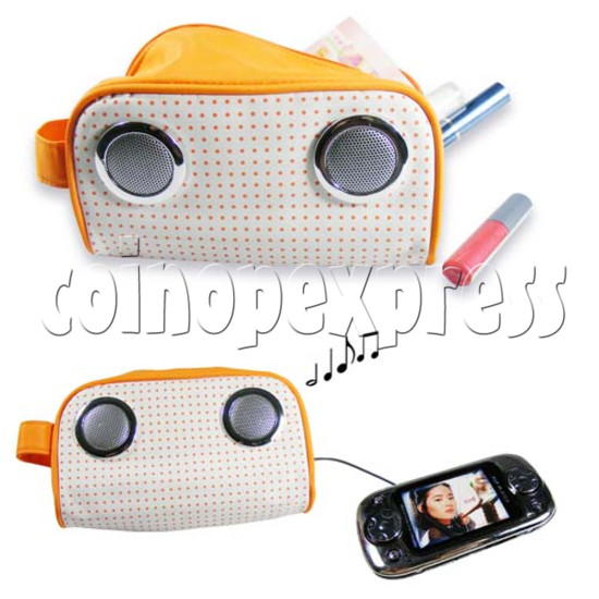 Cosmetic Bag with Speakers 20028