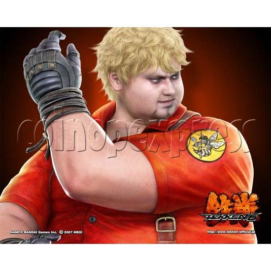 Tekken 6 kit - artwork 20041