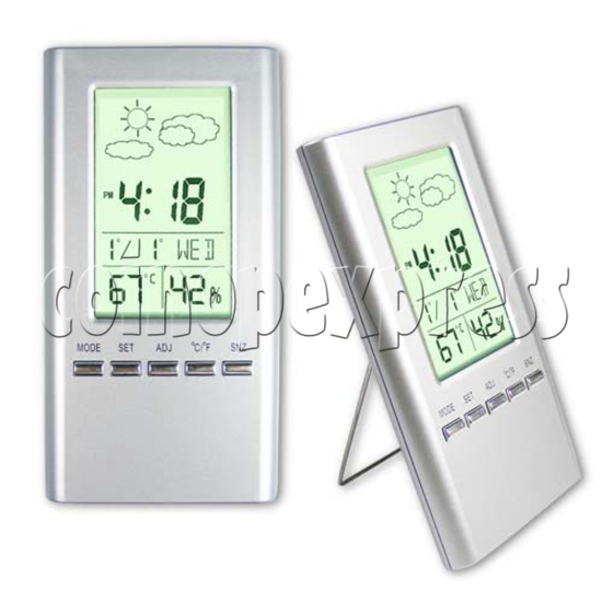 LCD Clock with Weather Data 20091